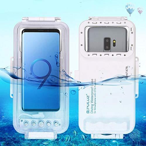Taoric Telefon Unterwassergehäuse Android Universal Diving Shell Für Android Typ-C OTG Handy (wasserdichte Tiefe 45M)