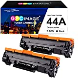 GPC Image Cartucho de tóner Compatible para HP 44A CF244A para Laserjet Pro M15a M15w MFP M28a MFP M28w Impresora (2 Negro)