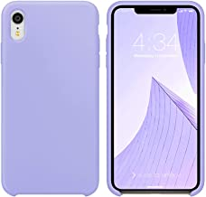 iPhone XR Case Silicone, Xperg Liquid Silicone Gel Rubber Shockproof Case Soft Microfiber Cloth Lining Cushion Compatible with Apple iPhone XR 6.1