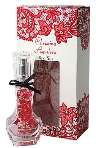 Christina Aguilera Red Sin femme / woman, Eau de Parfum, Vaporisateur / Spray 15 ml, 1er Pack (1 x 15 ml)