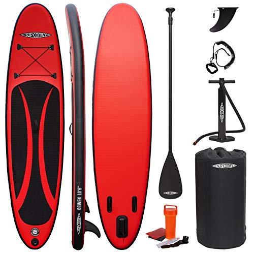 SUP Conwy Ogwen 10' 6' Inflatable Stand Up Paddle Board Complete Kit with Paddle, Pump, Bag, Leash and More