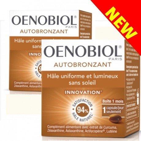 Oenobiol Autobronzant Lot de 2x30 capsules