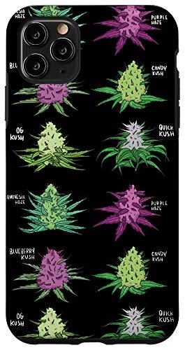 iPhone 11 Pro Max Weed pattern Kind of Weed Pot Stoner Marijuana Cannabis Leaf Case