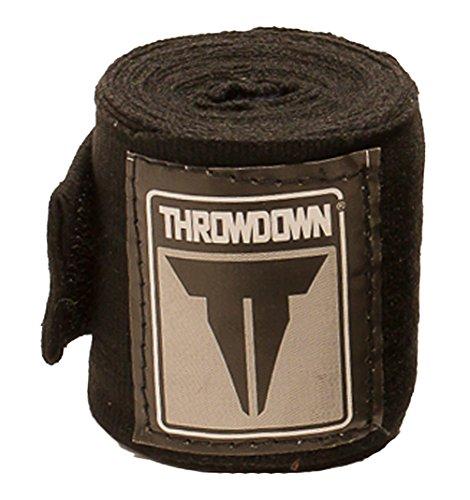 Throwdown Uni MMA Boxbandagen, Unisex, MMA, schwarz