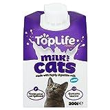 toplife lattosio per gatti Mucche Latte Riduce 200ML (Confezione da 2)