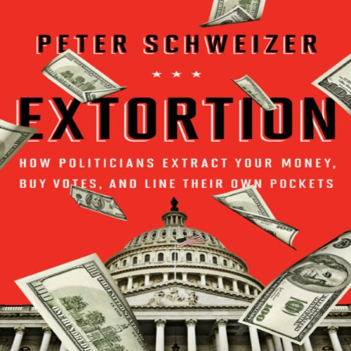 Extortion audiobook cover art