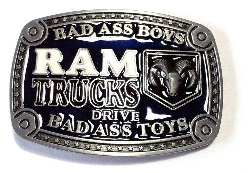 Piratenladen Boucle camions Dodge Ram, Bad Ass Toy, pick-up, boucle de ceinture