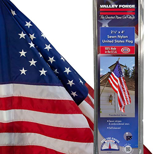 Valley Forge 60650-T American Flag, 2.5