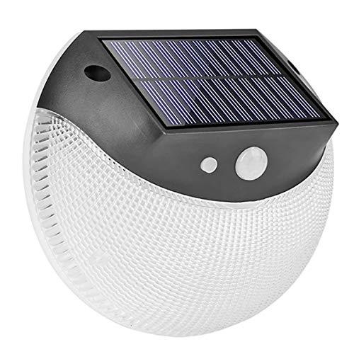 HFFFHA 3 Modi LED Solar Wandleuchte Outdoor Solar Light wasserdichte Human Motion Smart Sensor Licht für Garten Yard Street Pathway
