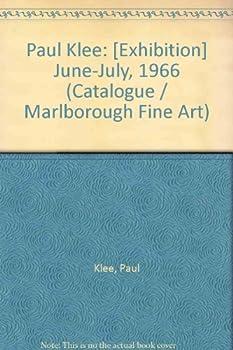 Board book Paul Klee: [Exhibition] June-July, 1966 (Catalogue / Marlborough Fine Art) Book