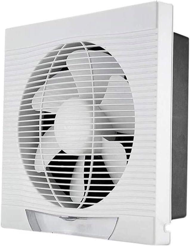 Ventiladores Extractor de Aire Montado en la pared ventilador de ventilación, potente ventilador extractor de aire de la cocina baño, de alta potencia tipo de pared de bajo ruido del ventilador de esc