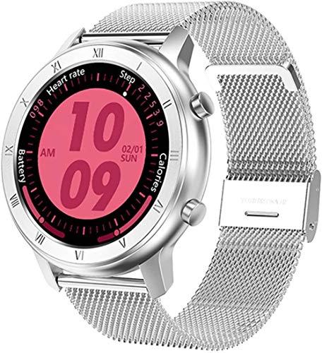 DT89 reloj inteligente señoras hombres s ECG Monitor de ritmo cardíaco presión arterial IP68 impermeable fitness Tracker señoras pulsera inteligente