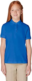 Short Sleeve Picot Collar Polo Shirt (Standard & Plus Sizes)