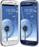 New & Sealed Factory Unlocked SAMSUNG Galaxy S3 III I9300 Blue White Phone (Blue)