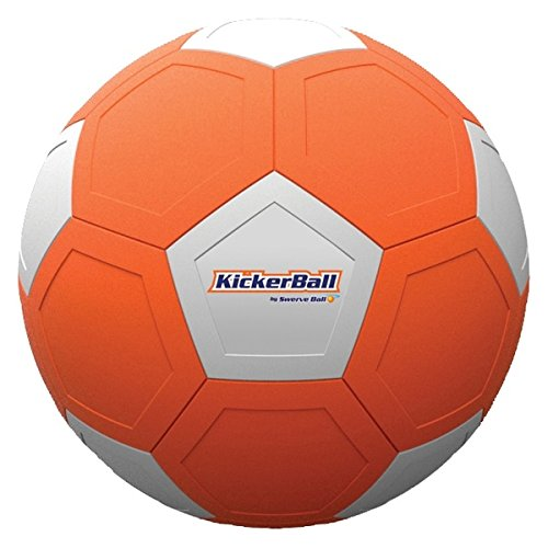 BestofTv Kicker Ball Fußball Unisex Kinder, Orange