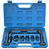 MOSTPLUS Engine Overhead Solid Valve Spring Compressor Automotive Tool C Clamp Service Set-10 Pieces
