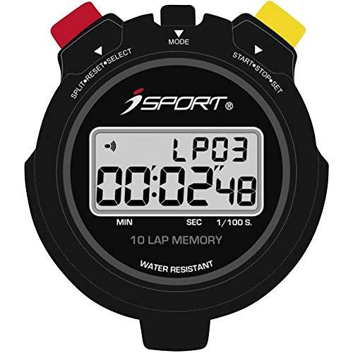 iSport JG021 Pro Stoppuhr digital Schwarz