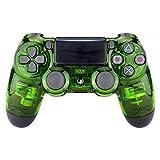 Controller Monkeys - PS4 Oberschale für JDM-040/-041/-030/-050/-055 Controller - Transparent Crystal (Grün)