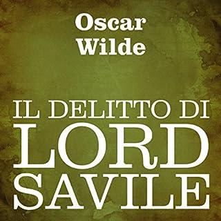 Il delitto di Lord Savile copertina
