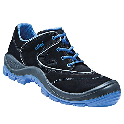 Atlas SL 245 XP Blue | ESD - EN ISO 20345 S3 - W10 (43, schwarz-blau)