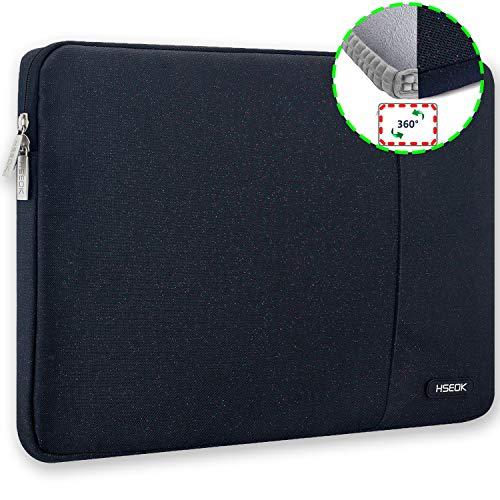 HSEOK 15,6 Zoll Laptop Hülle Tasche,Stoßfeste Wasserdicht PC Sleeve kompatibel mit die meisten 15,6 Zoll Laptops Dell/HP/Lenovo/Acer/Ausu,Bunt