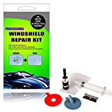 belupai Kit de réparation de pare-brise de voiture Auto Glass Kit de réparation de pare-brise en verre Kit de réparation de voiture pare-brise en verre DIY