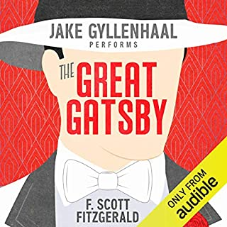 The Great Gatsby audiobook cover art