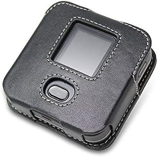 PDAIR レザーケース for +F FS030W スリーブタイプ(ブラック) PALCFS030WS/BL