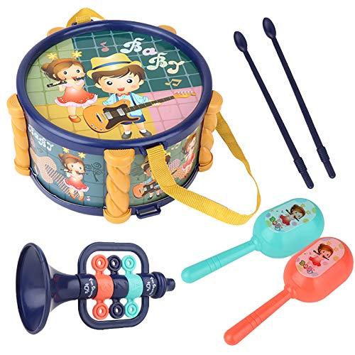 Spielzeug Kinder Baby Musikinstrumentenset Kinder Trommel Spielzeug...