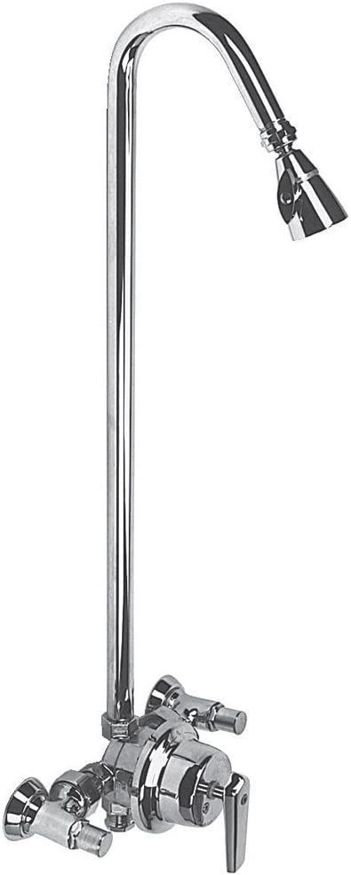 Speakman S 1495 Lh Sentinel Mark Ii Exposed Anti Scald Balanced Pressure Shower System Without Head Amazon Com