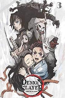 Demon Slayer Kimetsu no Yaiba, 3: manga Demon Slayer Kimetsu no Yaiba, vol 3 Notebook volume 1 to volume 16