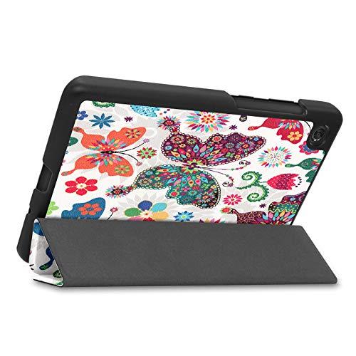 Lobwerk Case für Lenovo Tab M7 TB-7305F / TB-7305X 7.0 Zoll Schutzhülle Tasche mit Standfunktion und Auto Sleep/Wake Funktion