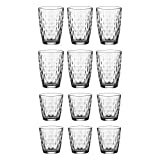Ravenhead 0040.482 Essentials 12 Piece Jewel Tumbler Set, Glass