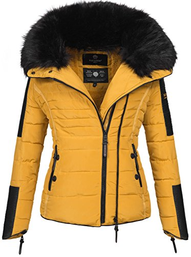 Navahoo Damen Winter Stepp Jacke Parka Winterjacke Steppjacke warm B386