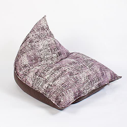 xuejuanshop Textile Lazy Omaha Mall Sofa Triangle Complete Free Shipping Wa Bag Bean and Removable