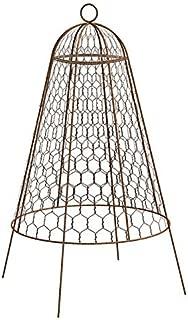 BestNest Bulk Buy of 12 Panacea 83280 Rustic Wire Garden Cloches, 20