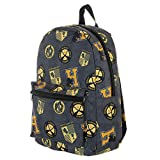 Bioworld - Harry Potter - House Hufflepuff All Over Print (AOP) Sublimated Backpack