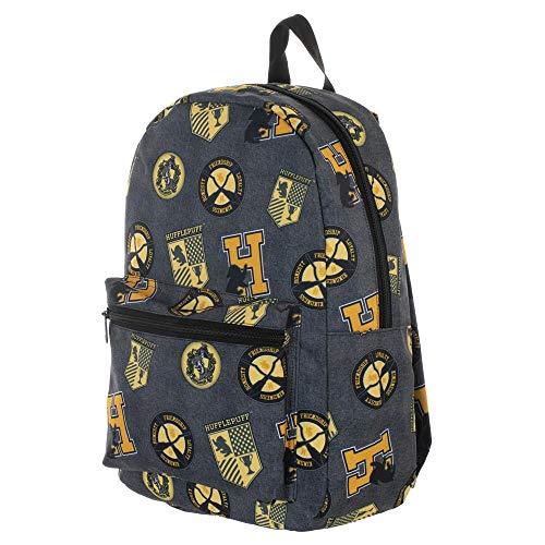 Harry Potter Hufflepuff Sublimated Print Backpack