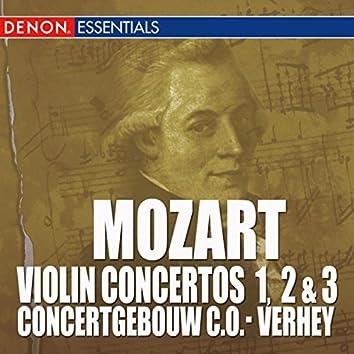 Mozart: Violin Concertos Nos. 1, 2 & 3