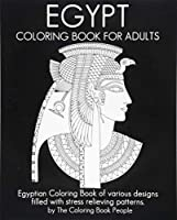 Egypt Coloring Book for Adults (Coloring Books for Adults)