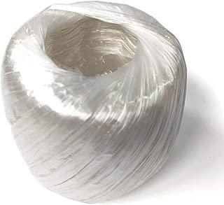 セーフラン(SAFERUN) PPひも 白 55mmx約200m (約250g) 一般荷造り梱包用のPP紐