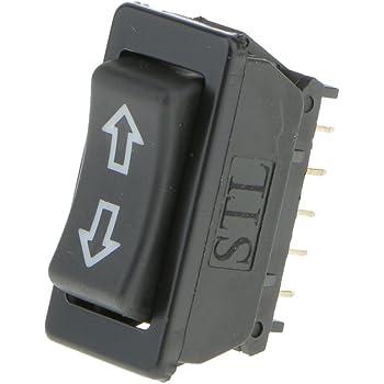 sourcing map 3pz Nero Universale 5 Pin Alimentazione per Auto Porta Finestra Interruttore Elettrico Pulsante Comando