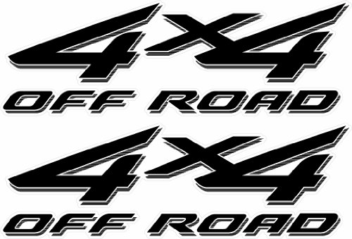 Vinylmark LLC Replacement 4x4 Off Road Decals (Black) - 2002 to 2008 Fits Ford...