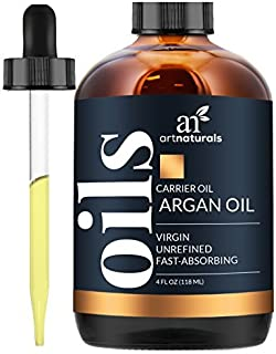 Sponsored Ad - ArtNaturals Organic Morrocan Argan Oil - 4 oz - for Hair, Face & Skin - 100% Pure Grade A Triple Extra Virg...