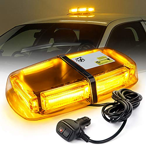 Xprite Amber COB LED Rooftop Beacon Lights 12