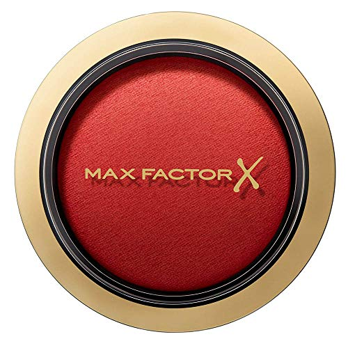 Max Factor Compact Blush Cheeky Coral 35 – Marmoriertes Rouge Für Den Perfekten Glow – Multitonales Puder Blush – Farbe Apricot