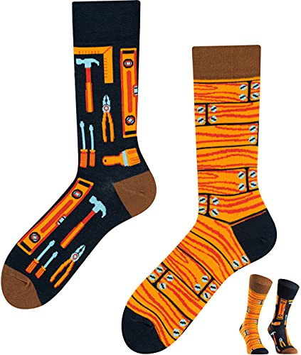 TODO Colours Lustige Socken mit Motiv - Mehrfarbige, Bunte, Verrückte für die Lebensfreude (Beste Ingenieur, numeric_39)