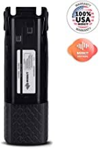 3800 mAh Battery for Baofeng UV82, BL-8 Li ion 7.4V for Two-Way HAM Radio UV-82HP, UV-82HPL, UV-82, UV-82C, UV-82X, Rechargeable Extended Batteries by Mirkit Radio, USA Warranty