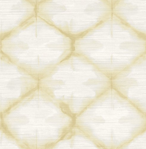 A-Street Prints 2744-24162 Gold Zanzibar Shibori Wallpaper