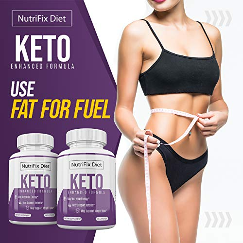 Nutrifix Diet - Keto Enhanced Formula - May Increase Energy - Support Ketosis and Weight Loss - 30 Day Supply 2